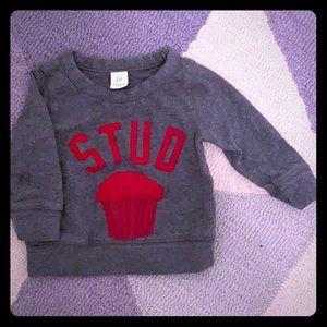 Baby GAP Stud Muffin Sweater 6-12M